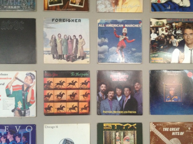 Records in a grid