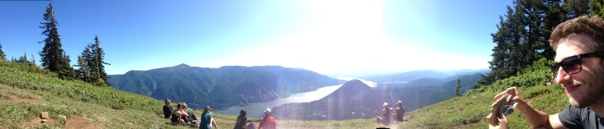 Panoramic view of the Gorge.