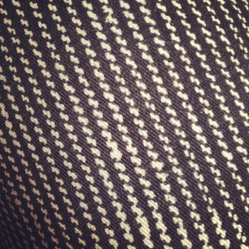 A little crazy, but still subtle- patterned jeans.