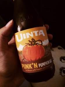 Uinta Punk'N Pumpkin Ale