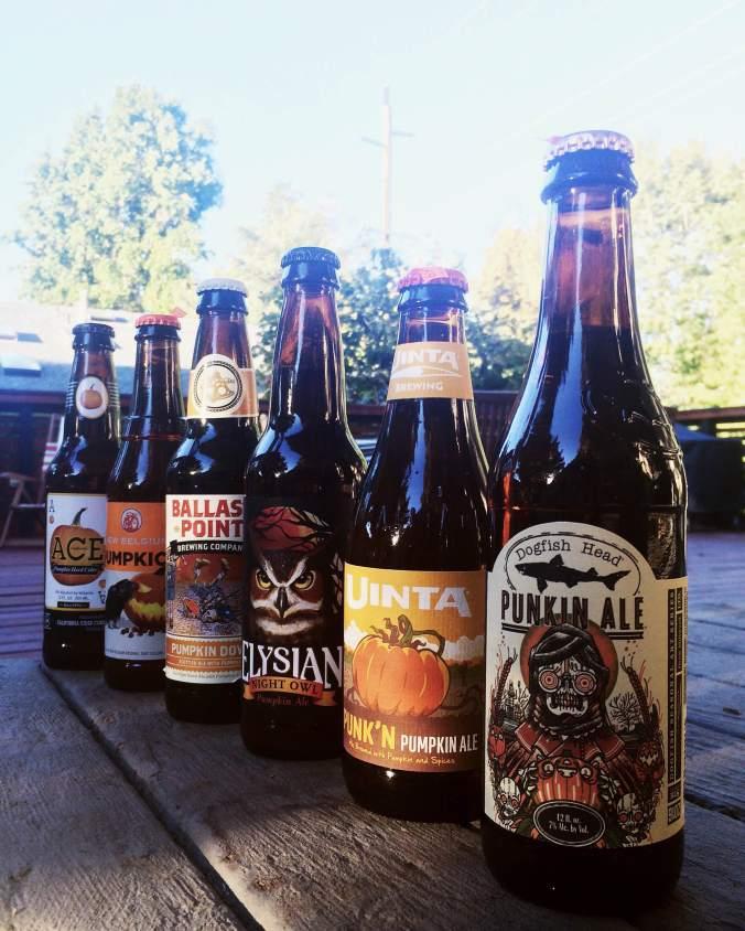 Pumpin Beer Taste Test