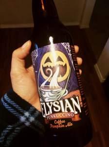 Elysian Punkuccino Coffee Pumpkin Ale
